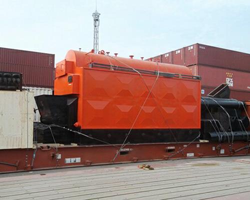 6吨生物质锅炉发货现场
